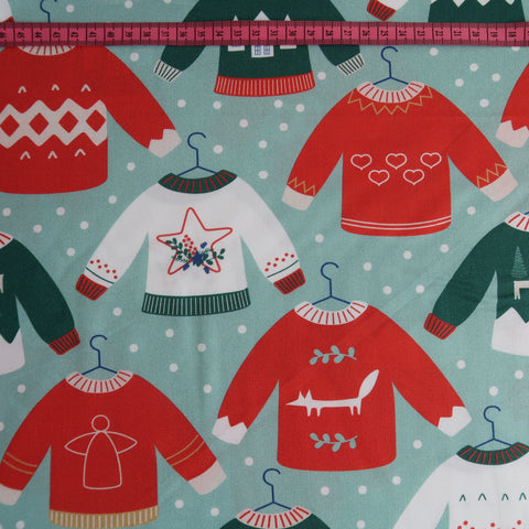 Christmas Jumper Print Fabric