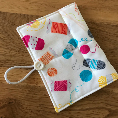 Knitting print Circular Needle case