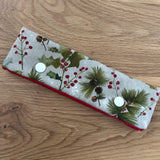 Holly print DPN case / cosy
