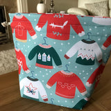 Christmas Jumper / Sweater Print Project Bag