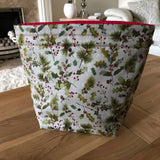 Holly Print Project Bag