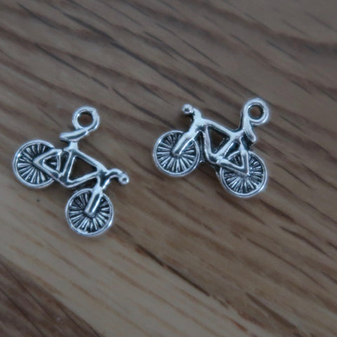 Bicycle stitch markers or progress keepers (set if 2)