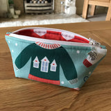 Christmas Jumper / Sweater notions pouch