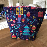 Nutcracker Print Project Bag