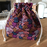 Butterfly Print Project Bag