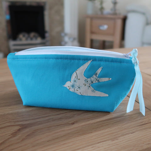 Summer Swallow notions pouch