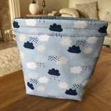 Cloud Print Project Bag