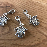 Knitting  a Jumper / Sweater stitch markers or progress keepers (set of 3)