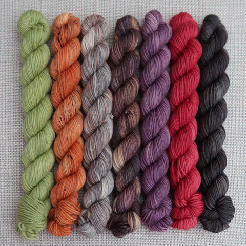 Autumnal Mini skein Set