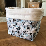 Sheep print bag