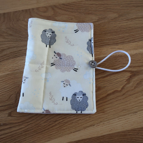 Spring Sheep print Circular Needle case