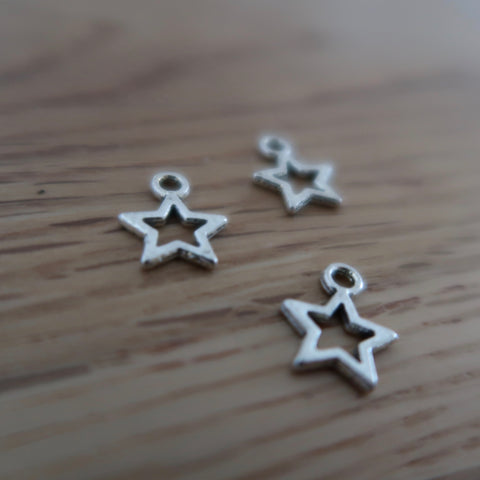Star stitch marker or progress keepers (set of 3)