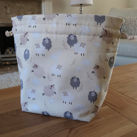 Spring Sheep print bag