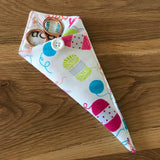 Knitting print Scissor Case