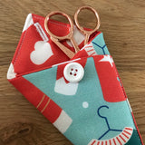 Christmas Jumper / Sweater print Scissor Case