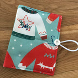 Christmas Jumper / Sweater print Circular Needle case