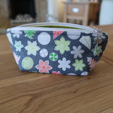 Christmas Biscuits print notions pouch