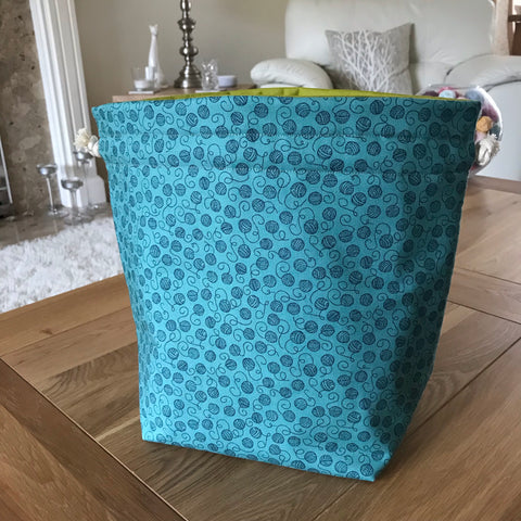Yarn print Project Bag