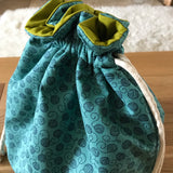 Yarn print bag Medium (Shawl or small sweater size)