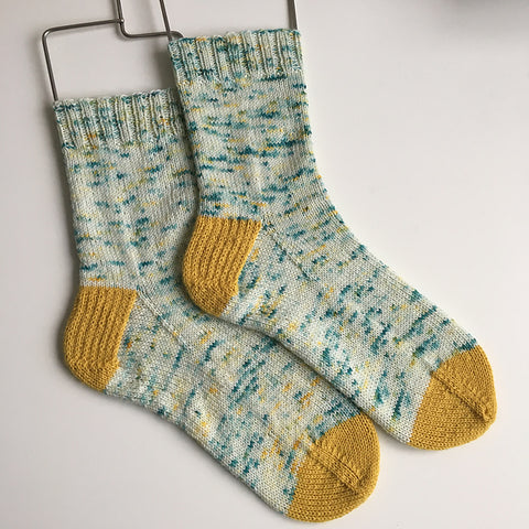 Simple Top Down Sock Pattern (PDF)