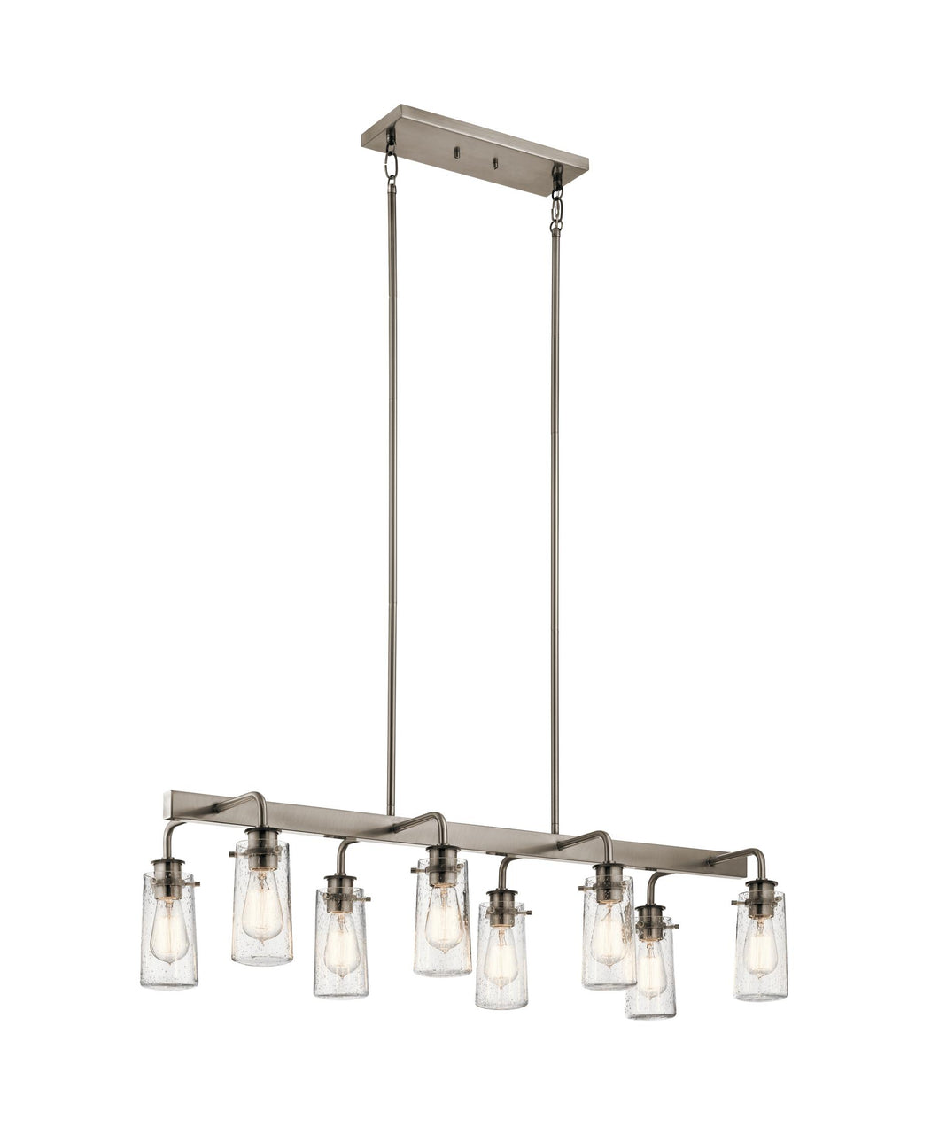 Classic Pewter Braelyn 8 Light 42