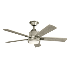 "Load image into Gallery viewer, 52"" Colerne LED ceiling fan (2 color options)"