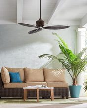 "Load image into Gallery viewer, 56"" Delray indoor or outdoor ceiling fan (3 color options)"