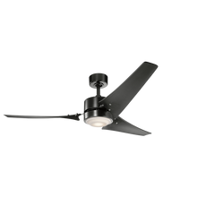 "Load image into Gallery viewer, 60"" Rana LED ceiling fan (3 color options)"