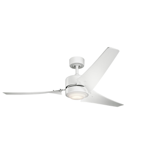 "60"" Rana LED ceiling fan (3 color options)"