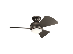 "34"" Sola LED ceiling fan"