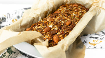 Easy Low Carb Paleo Carrot Cake Bread