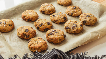Healthy Chocolate Chip Coconut Cookies / Low Carb Recipe
