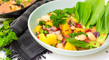 Paleo Butterbean & Pineapple Curry