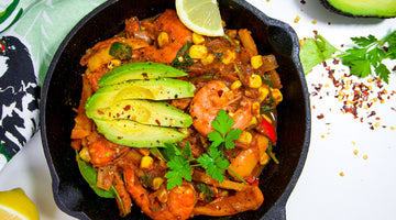 One Pot Mexican Style Prawns / Low Carb Summer Recipe