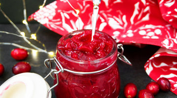 Healthy Sugar Free Cranberry Sauce Recipe