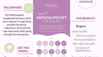 A Primal Supplement To Help Support Menopause: MenoSupport