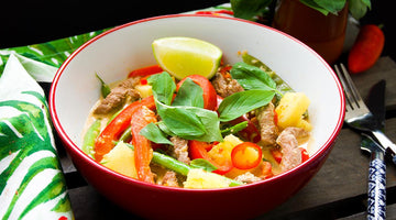 Primal Red Thai Beef, Coconut and Pineapple Curry