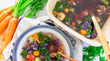 How To Make Your Own Vegetable Broth / Gut-Friendly & Low Carb