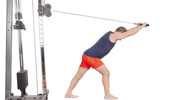 Overhead Triceps Rope Or Bar Extension