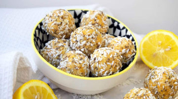 Lemon, Chia and Coconut Energy Balls