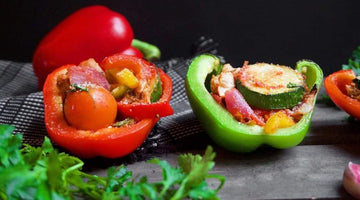 Stuffed Ratatouille Peppers