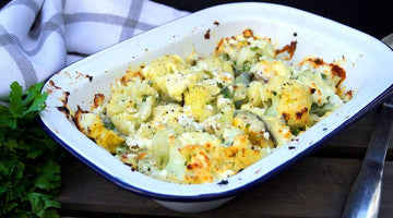 Smoked Haddock and Cauliflower Cheese Bake