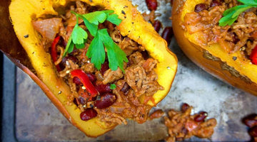 Chilli Stuffed Pumpkin