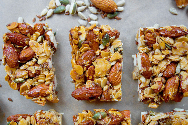 4 ingredient primal granola bars