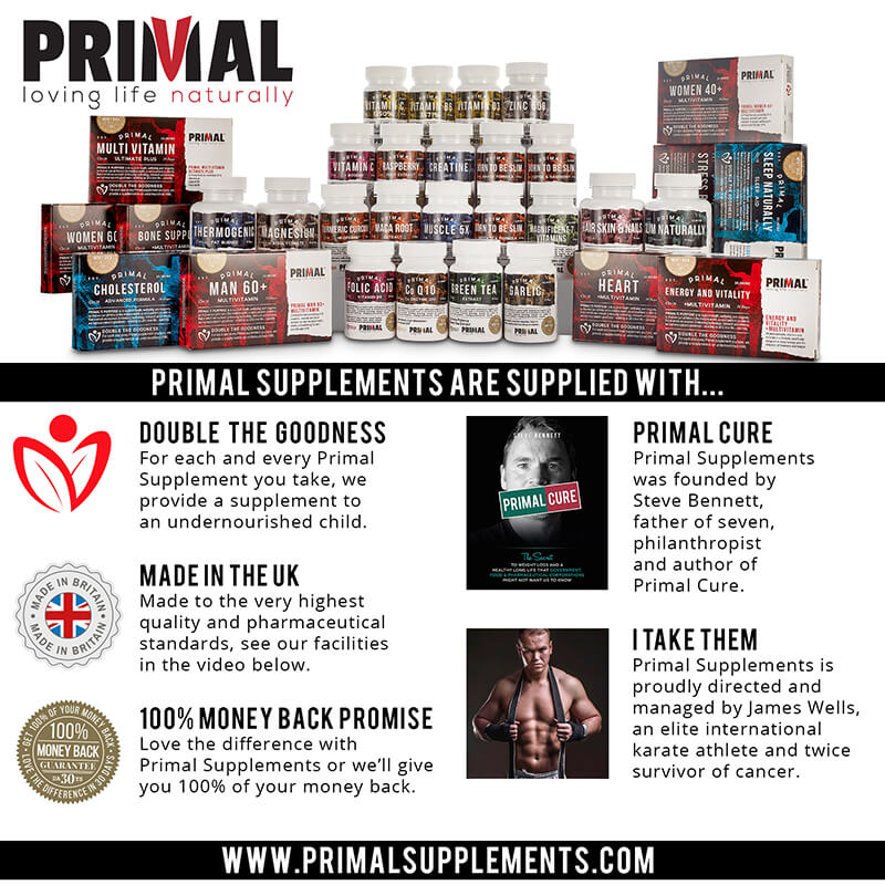 Primal Cure Benefits