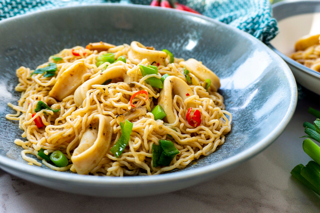 Low carb spicy Chinese style noodles recipe