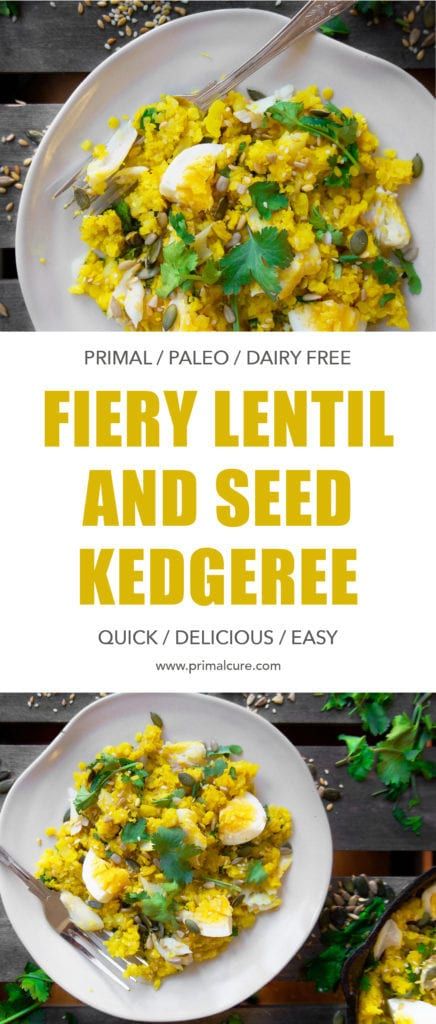 My primal and paleo take on the classic Indian classic, Kedgeree. This dish is lower in carbs, healthier, dairy free and full of healthy ingredients. A quick and easy healthy dish for all the family!