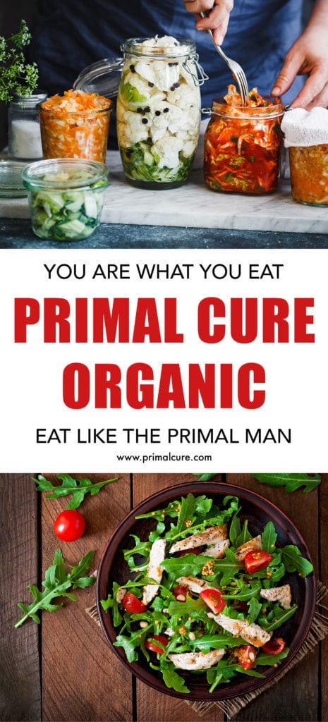 Primal Cure organic. When it comes to all animal produce, it is extremely important to buy as natural as you can possibly afford. Learn about what the primal man ate and why our bodies are designed to eat like the primal man for ultimate health benefits!