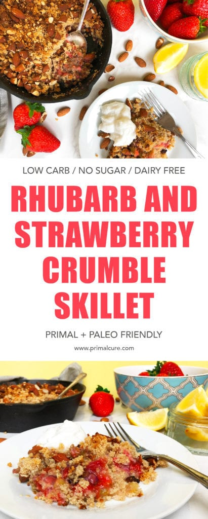 A delicious healthy and primal/paleo friendly dessert that will be sure to be a hit this spring! Low carb, grain free, sugar free, dairy free. Sweet, delicious and light all whilst providing flavour!