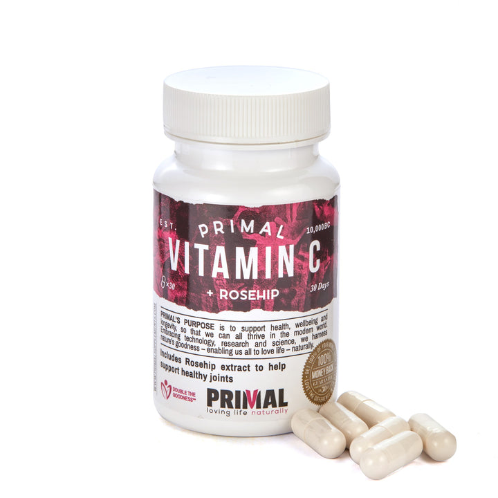 Primal Supplements Vitamin C & Rosehip